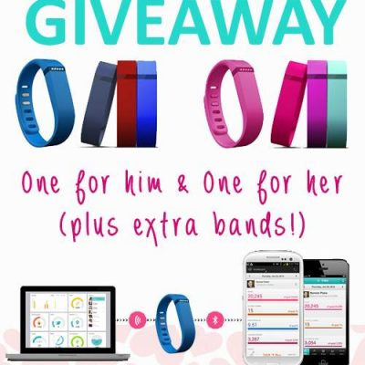 Fitbit Giveaway – One for Him + One for Her!