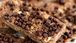 Mocha No Bake Granola Bars