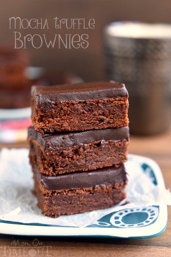mocha-truffle-brownies-recipe