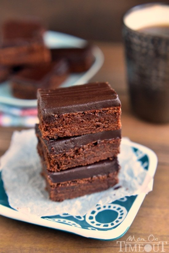 These decadent Mocha Truffle Brownies are just what your sweet tooth ...
