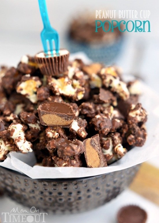 reese s peanut butter popcorn peanut butter popcorn recipe two butter ...