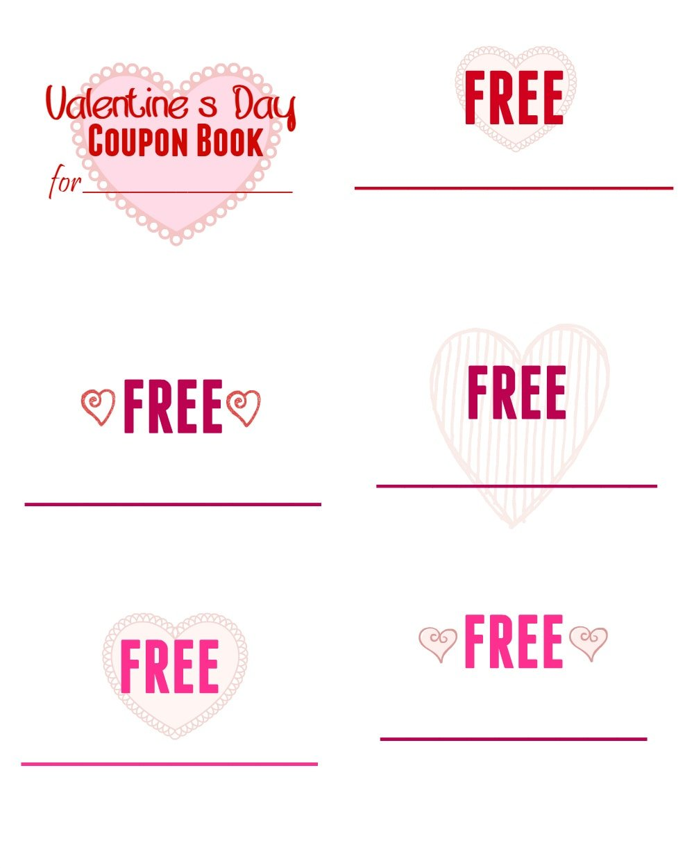 printable valentine s day coupon book for kids mom on timeout