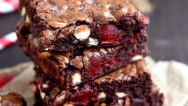 triple-chocolate-cherry-brownies