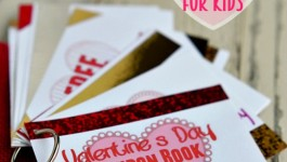Printable Valentine's Day Coupon Book for Kids!