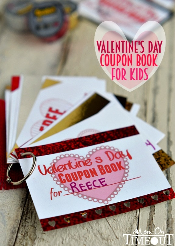 treat your little sweetheart to a printable valentines day coupon book for kids printable coupons