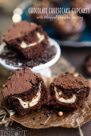 chocolate-cheesecake-cupcakes-with-whipped-ganache-frosting