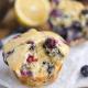 blueberry-lemon-cream-cheese-muffins-recipe