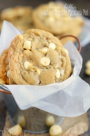 White Chocolate Macadamia Nut Cookies Cake Mix