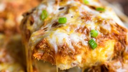 Loaded BBQ Pork Potato Casserole