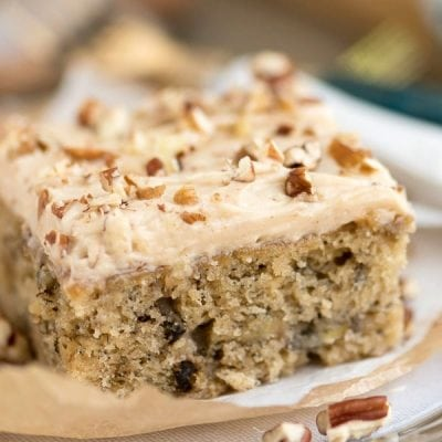 Easy Banana Snack Cake
