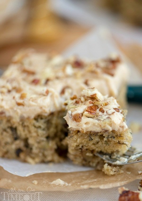 Banana Cake Maple Frosting