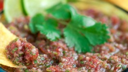 Easy Garden Blender Salsa + How My Garden Grows!