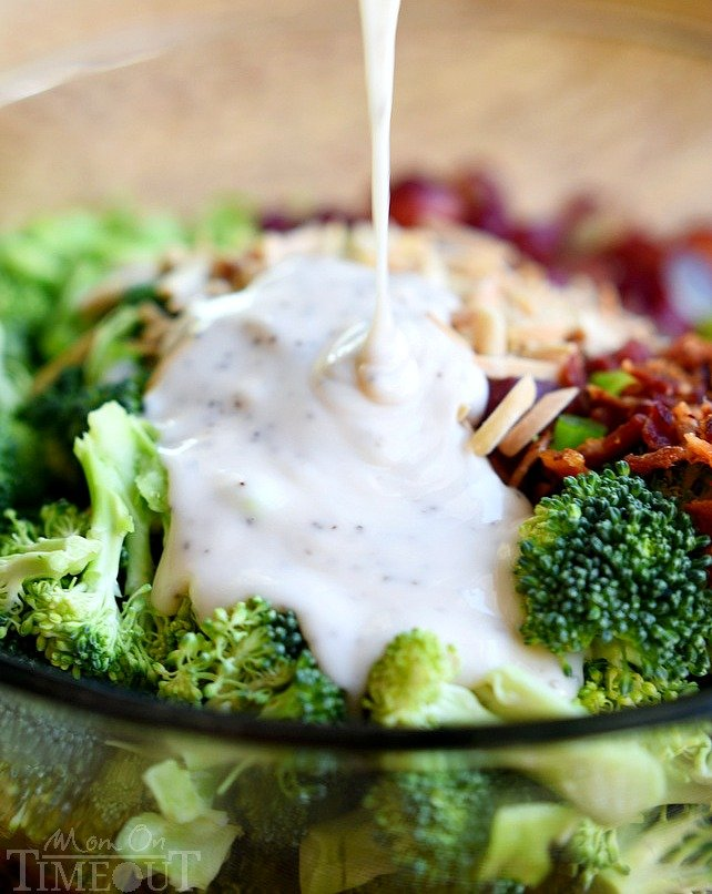 best broccoli recipe for broccoli salad with dressing