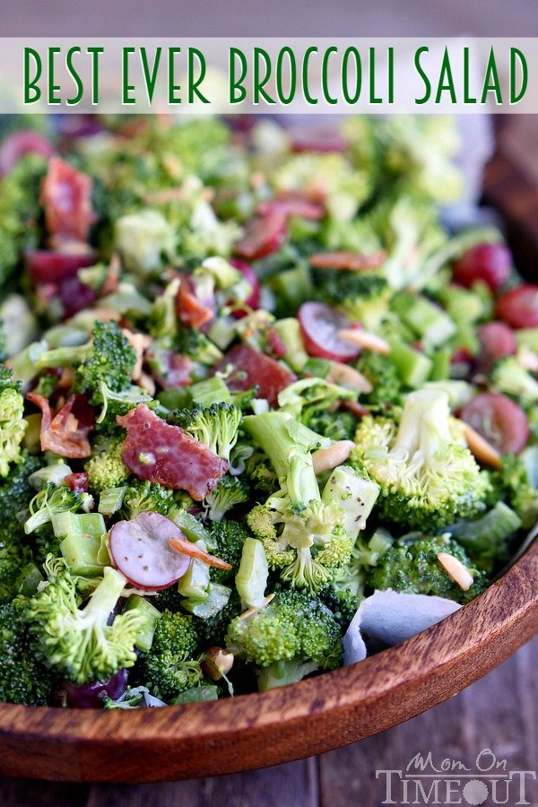 The Best Broccoli Salad Recipe Easy And Delicious Mom On Timeout