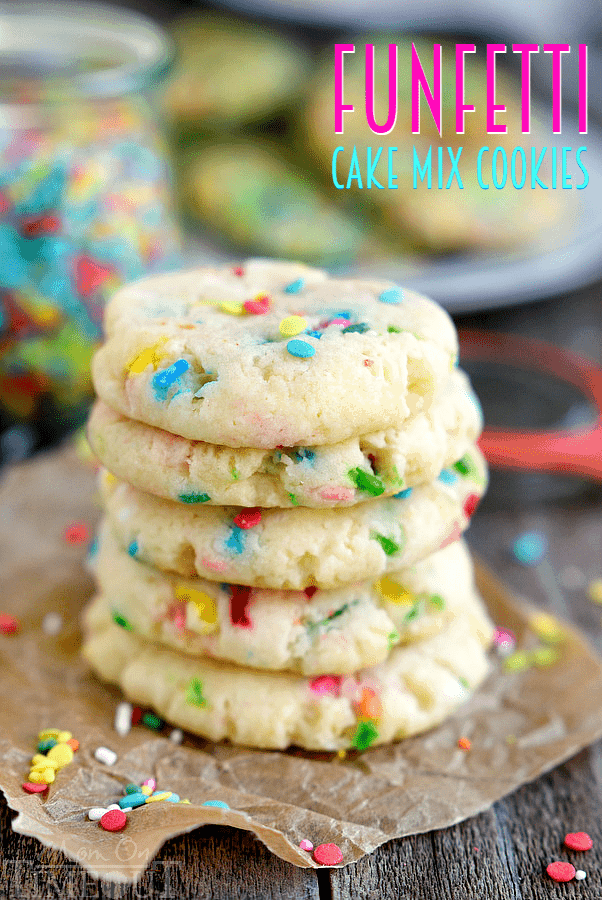 Funfetti Cake Mix Cookie Recipe