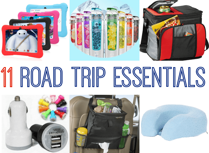 11 Road Trip Essentials!
