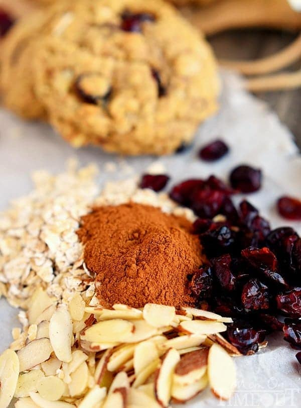 cranberry-almond-breakfast-cookies-ingredients-needed