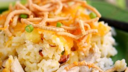 Hawaiian Chicken and Rice Casserole