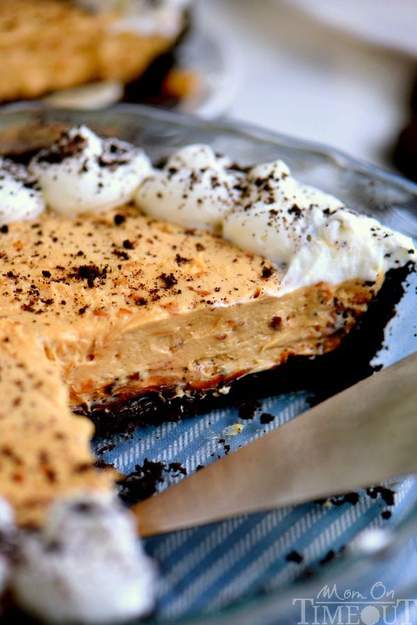 I've got an incredible No Bake Peanut Butter Cheesecake Pie recipe for you that just won't quit! See if you can eat just one slice! Creamy, crunchy, delightfully rich and no bake too!