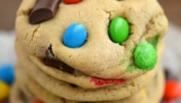 Bakery Style M&M's and Chocolate Chunk Cookies