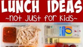 Three Out of the Box Lunch Ideas – Not Just for Kids!