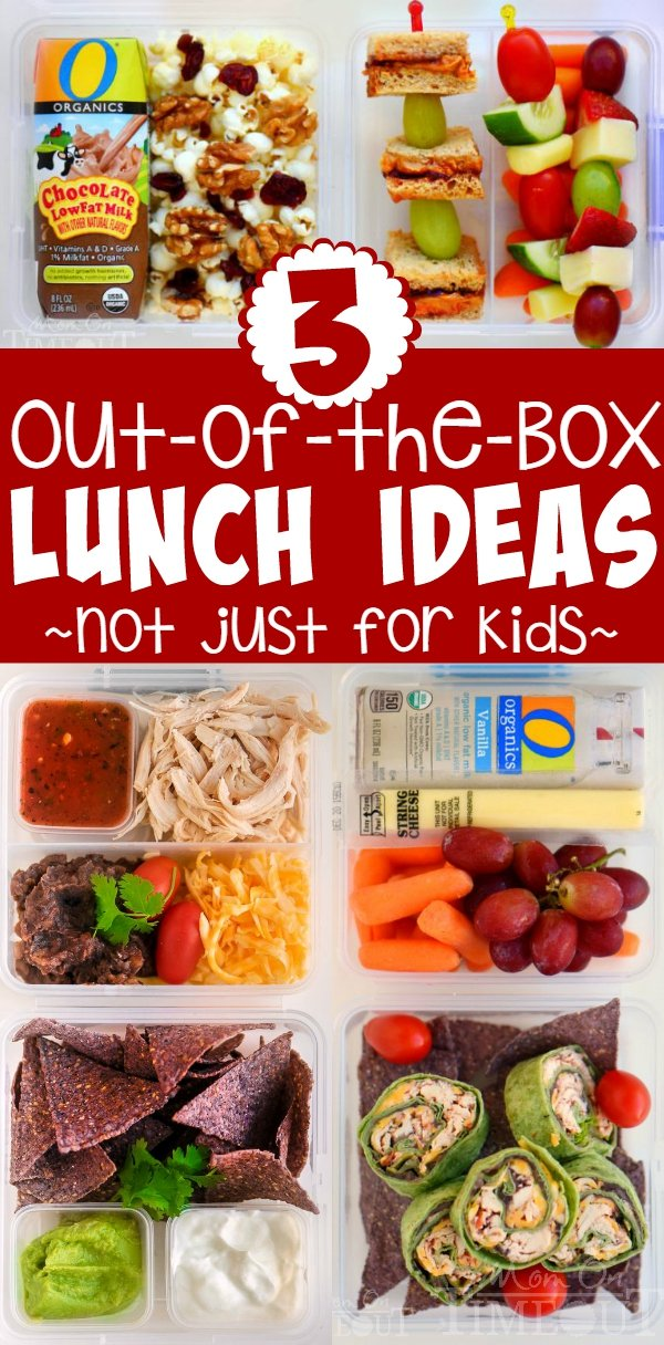Three Out Of The Box Lunch Ideas Not Just For Kids Mom On Timeout