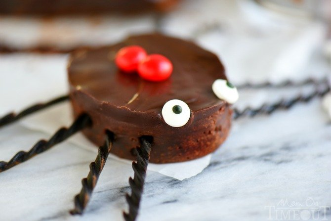 brownies that look like spiders