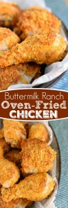 butermilk-ranch-oven-fried-chicken-collage