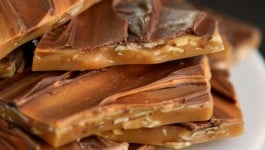 Butterscotch Almond Toffee