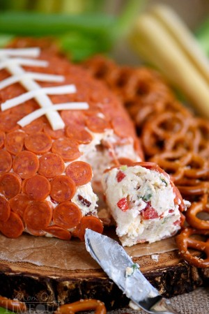pepperoni-pizza-football-cheeseball-recipe