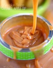 Pumpkin Spice Caramel Apple Dip