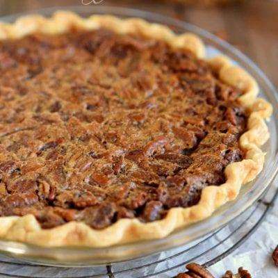 Brown Sugar Pecan Pie Recipe