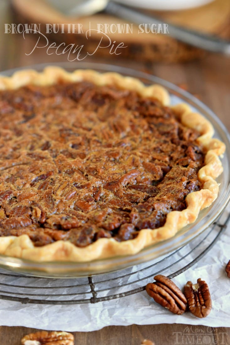 Brown Sugar Pecan Pie Recipe Mom On Timeout
