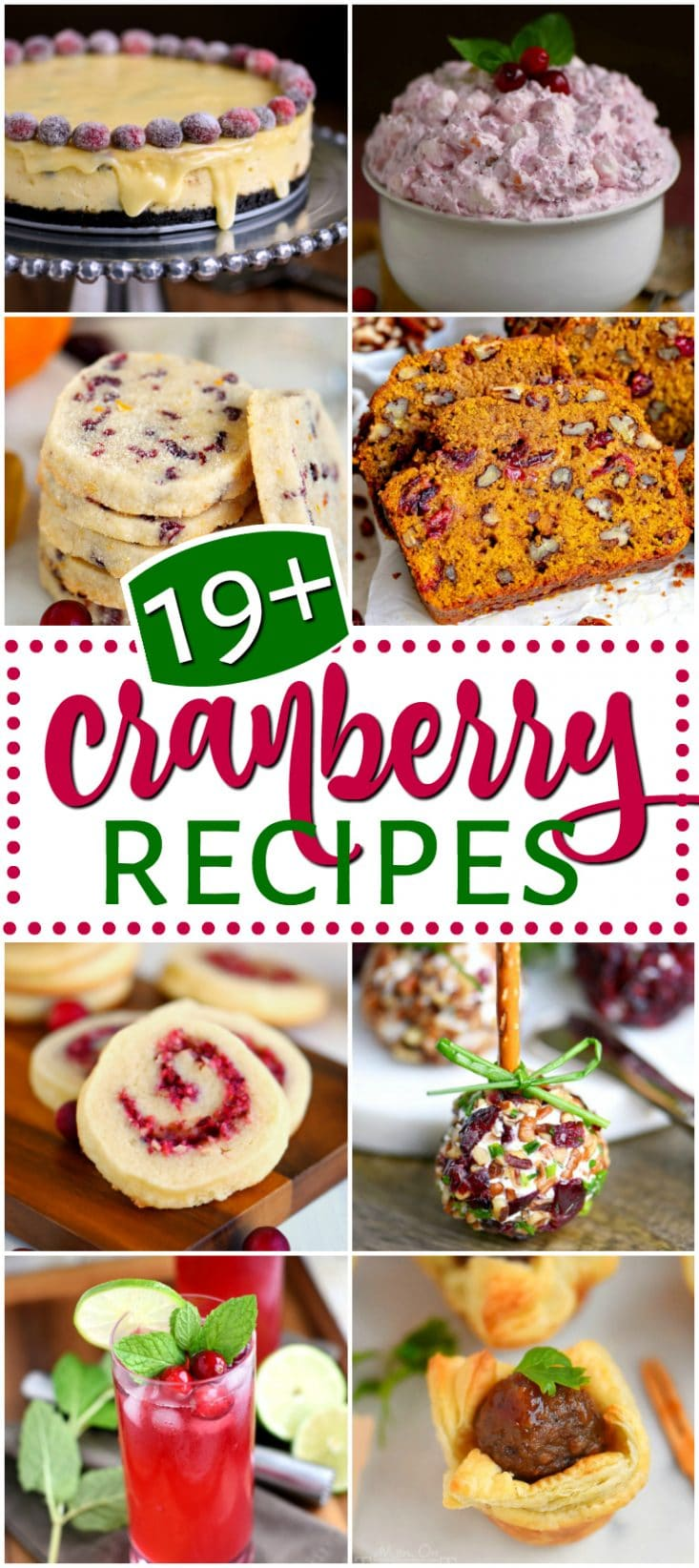 cranberry-recipes-collage