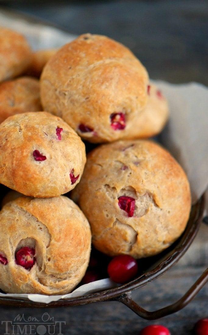 yeast-rolls-cranberry