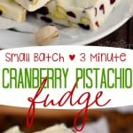 small-batch-3-minute-cranberry-pistachio-fudge-collage