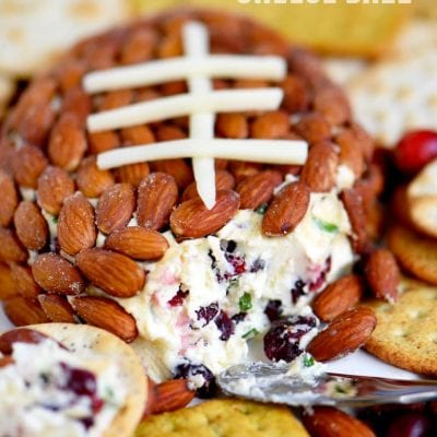 Cranberry Almond Cheese Ball