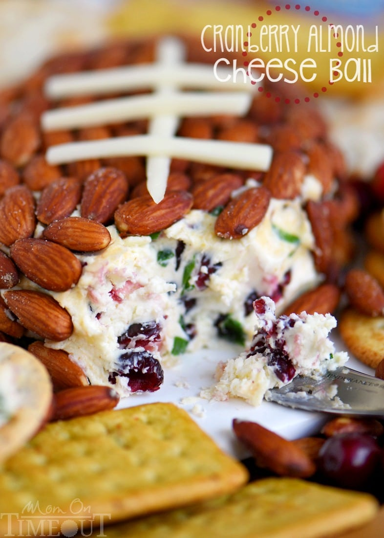 Get ready to impress with this unbelievably delicious Cranberry Almond Cheese Ball - made with just FIVE ingredients! This easy recipe is great for entertaining and parties!