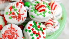 Holiday Dipped Peppermint Oreos – How To + Tips!