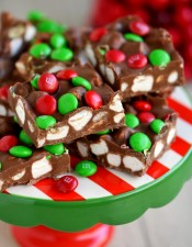 M&M's Marshmallow Dream Bars