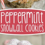peppermint-snowball-cookie-recipe-collage