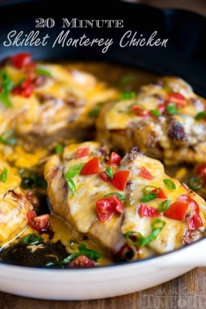 skillet-monterey-chicken-recipe-20-minutes