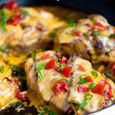 20 Minute Skillet Monterey Chicken