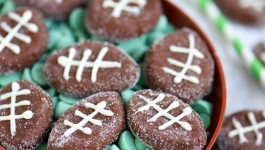 Easy Chocolate Football Patties