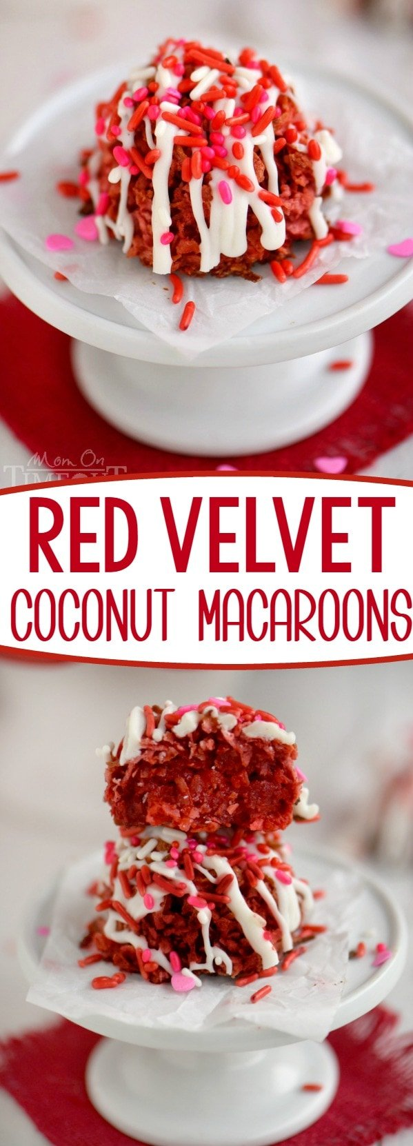 red-velvet-coconut-macaroons-recipe-collage
