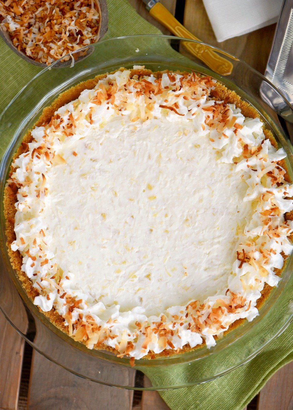 pina colada pie recipe no bake
