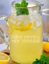 Party Perfect Mint Lemonade