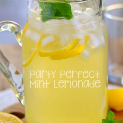 Party Perfect Mint Lemonade