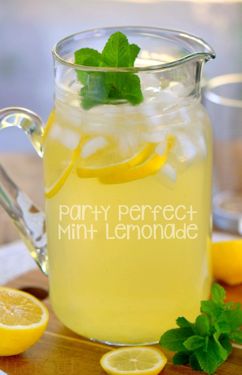 Party Perfect Mint Lemonade Mom On Timeout