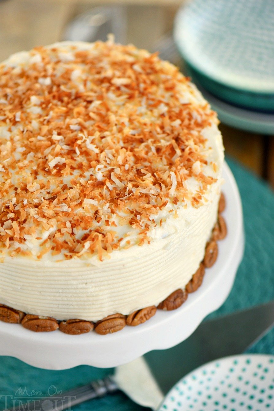Carrot Cake Using Butter Not Oil